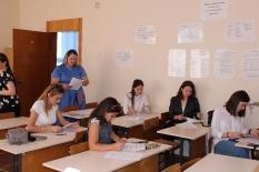Встреча ректора с первокурсниками