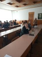 Встреча студентов с медицинскими работниками