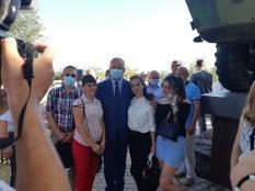 Встреча студентов ТГУ с Президентом РМ Игорем Додон 17.09.2020 г.